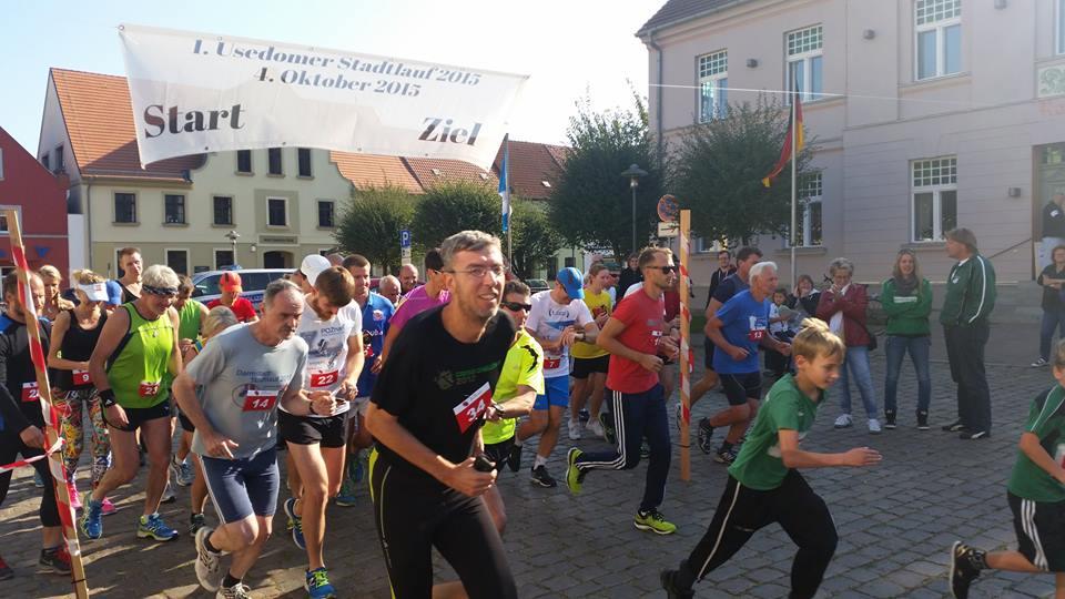 Laufen in Usedom